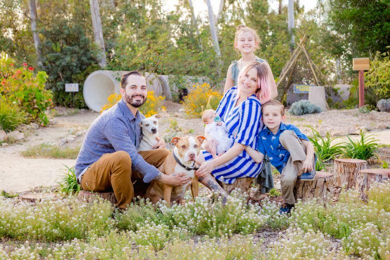 Alta Vista Gardens Family Portraits